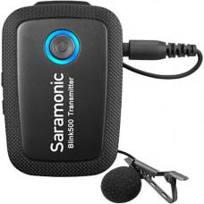 Беспроводной передатчик со встроенным микрофоном Saramonic Blink 500 TX